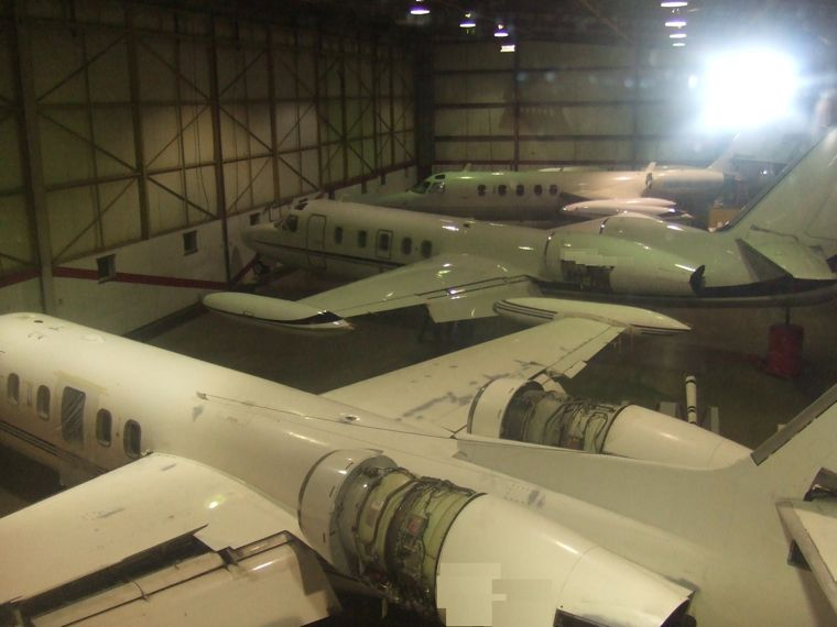 Oklahoma Jet Support Center - West Hangar Bay